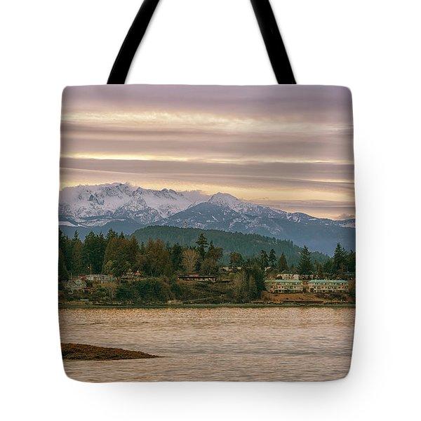 Craig Bay Tote Bag by Randy Hall