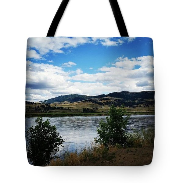 Missouri River Tote Bag