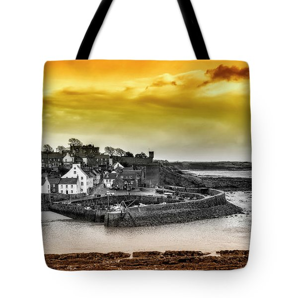 Crail Harbour Tote Bag by Jeremy Lavender Photography