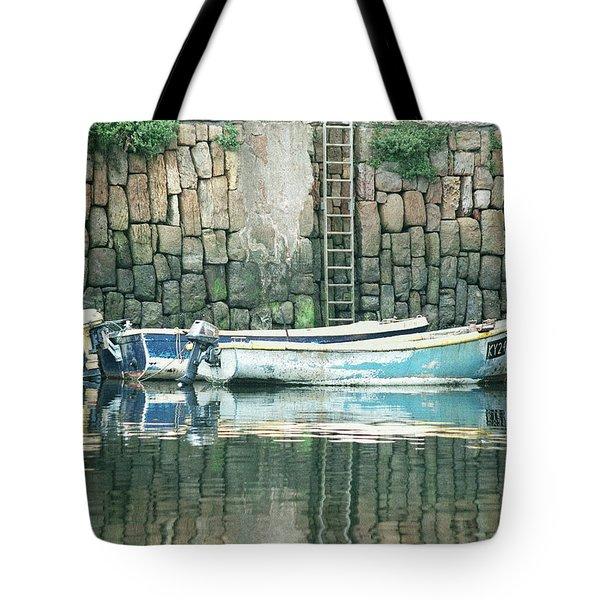 Crail Harbour Tote Bag