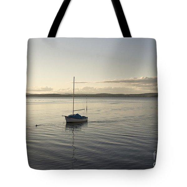Cramond. Boat. Tote Bag