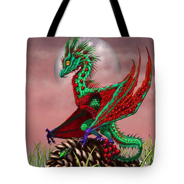 Cranberry Dragon Tote Bag
