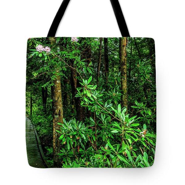 Cranberry Glades Boardwalk Tote Bag