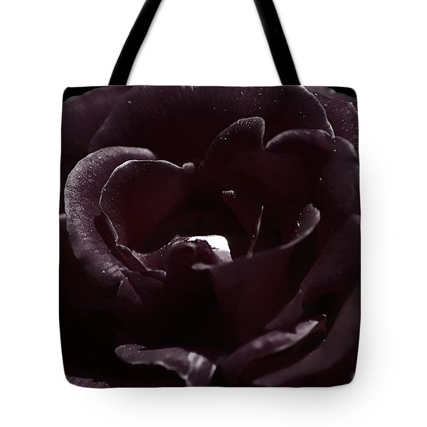 Cranberry Rose Tote Bag by Clayton Bruster