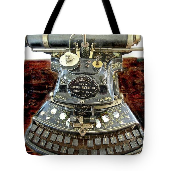 Crandall Type Writer 1893 Tote Bag