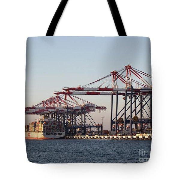 Cranes 2 Tote Bag by Cheryl Del Toro