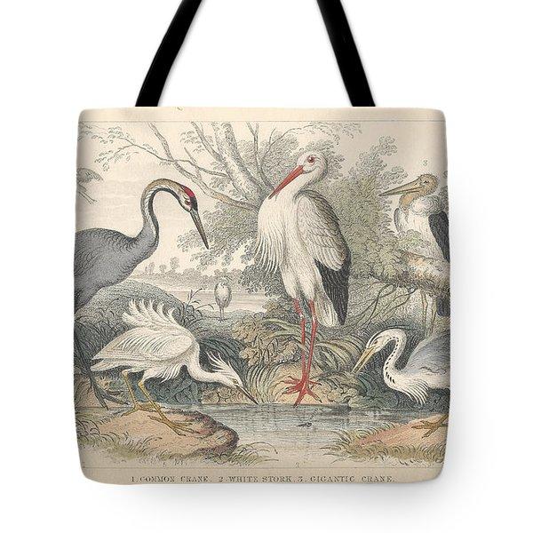 Cranes Tote Bag by Rob Dreyer