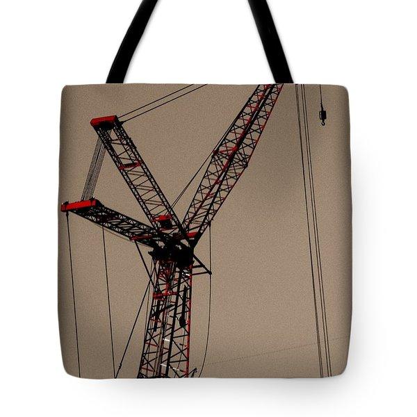 Crane's Up Tote Bag