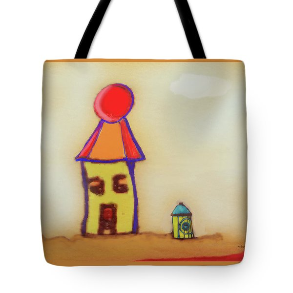 Cranky Clown Cabana And Fire Hydrant Tote Bag