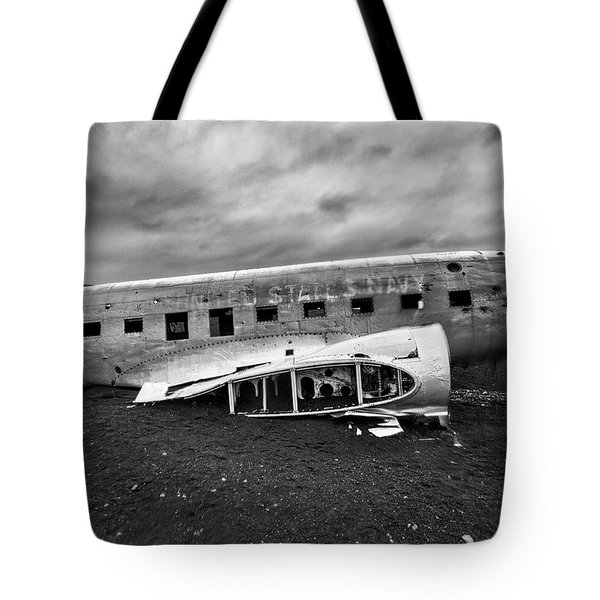 Crash Tote Bag by Wade Courtney