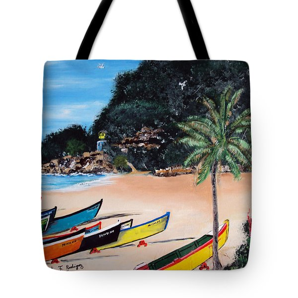 Crashboat Beach I Tote Bag by Luis F Rodriguez