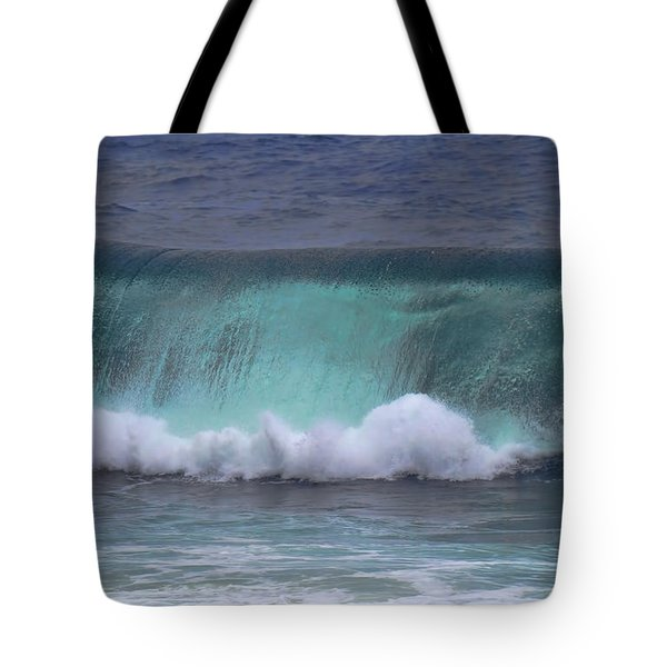 Crashing Wave Tote Bag by Pamela Walton