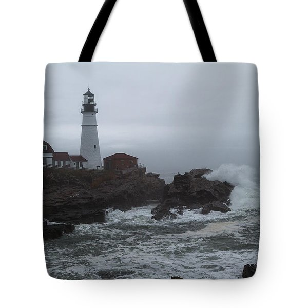 Tote Bag featuring the photograph Crashing Waves by Darryl Hendricks