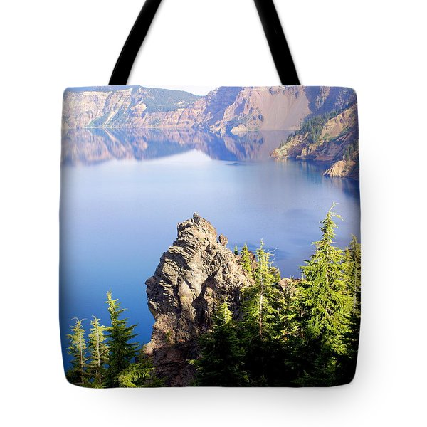 Crater Lake 4 Tote Bag by Marty Koch