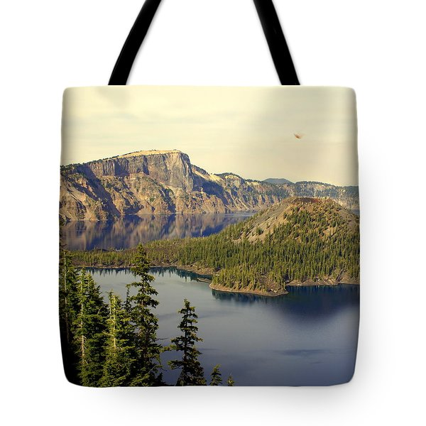 Crater Lake 6 Tote Bag by Marty Koch