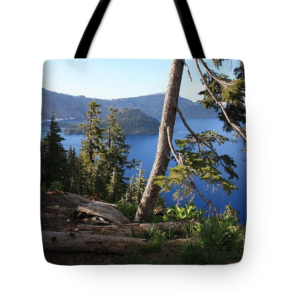 Crater Lake 9 Tote Bag by Carol Groenen