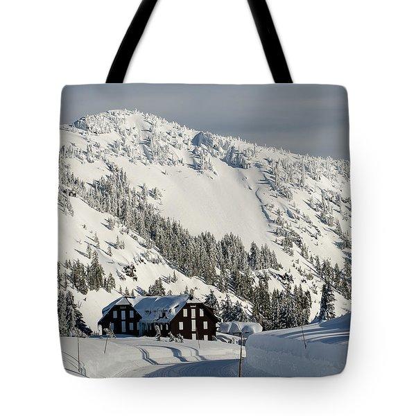 Crater Lake Lodge Tote Bag
