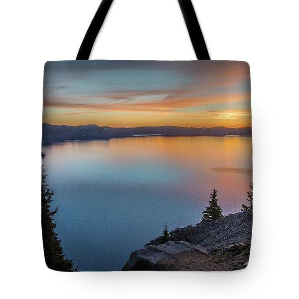 Crater Lake Morning No. 1 Tote Bag