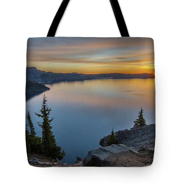 Crater Lake Morning No. 2 Tote Bag