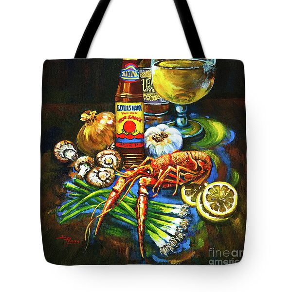 Crawfish Fixin's Tote Bag