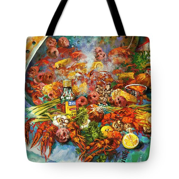 Crawfish Time Tote Bag
