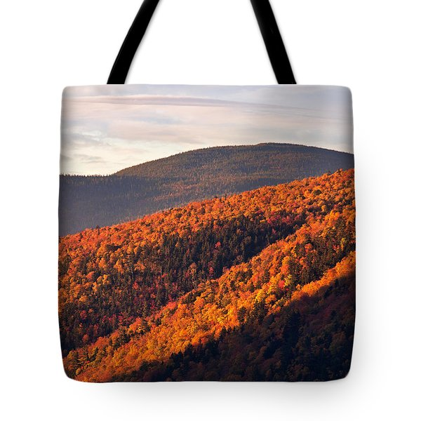 Crawford Notch Sunrise Tote Bag