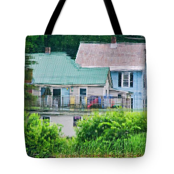 Crayola Cottages Tote Bag