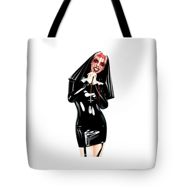 Crazy Tote Bag by Brian Gibbs