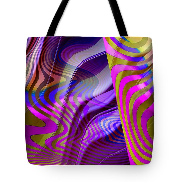 Crazy Busy Tote Bag by Ruth Palmer