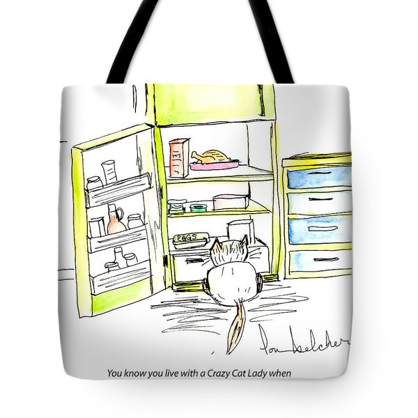 Crazy Cat Lady 0003 Tote Bag