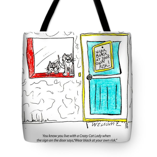 Crazy Cat Lady 0005 Tote Bag