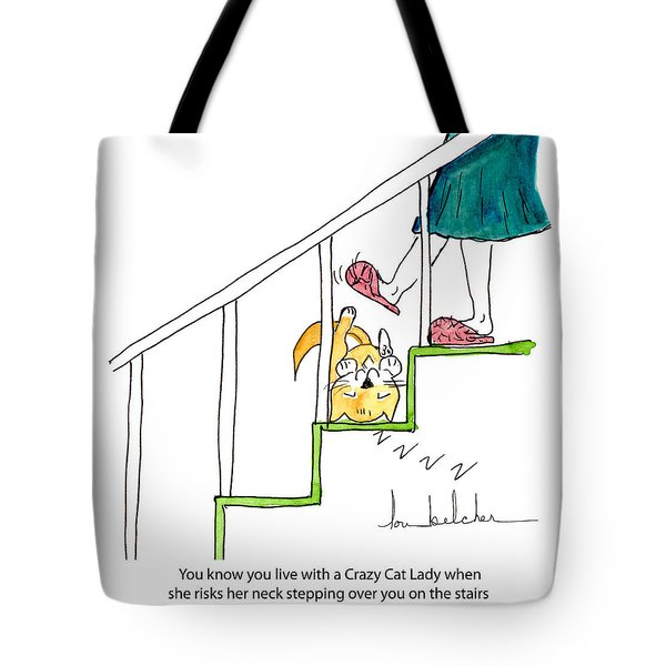 Crazy Cat Lady 0006 Tote Bag