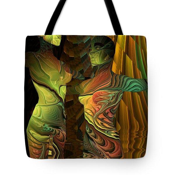 Crazy Dance -2- Tote Bag