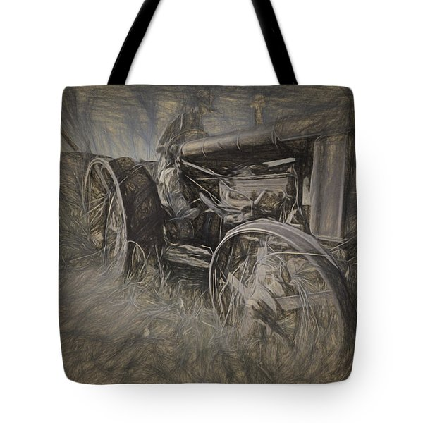 Crazy Farmer Tote Bag