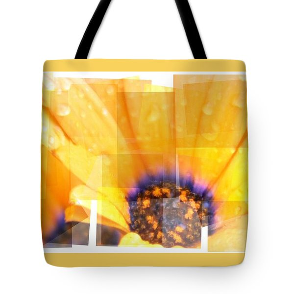 Crazy Flower Petals Tote Bag by Amanda Eberly-Kudamik