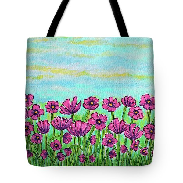 Crazy For Cosmos Tote Bag