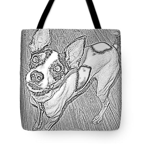 Crazy Frida Tote Bag