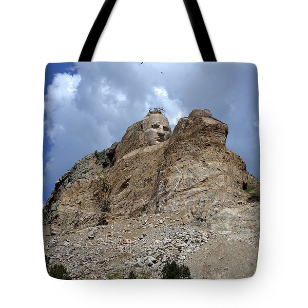 Crazy Horse Tote Bag