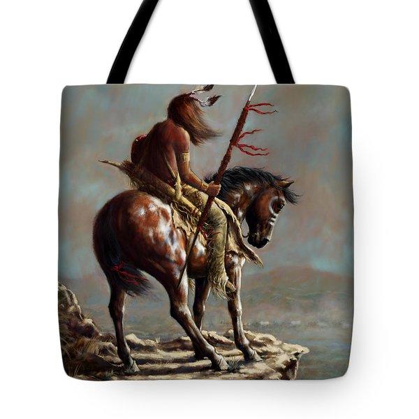 Crazy Horse_digital Study Tote Bag