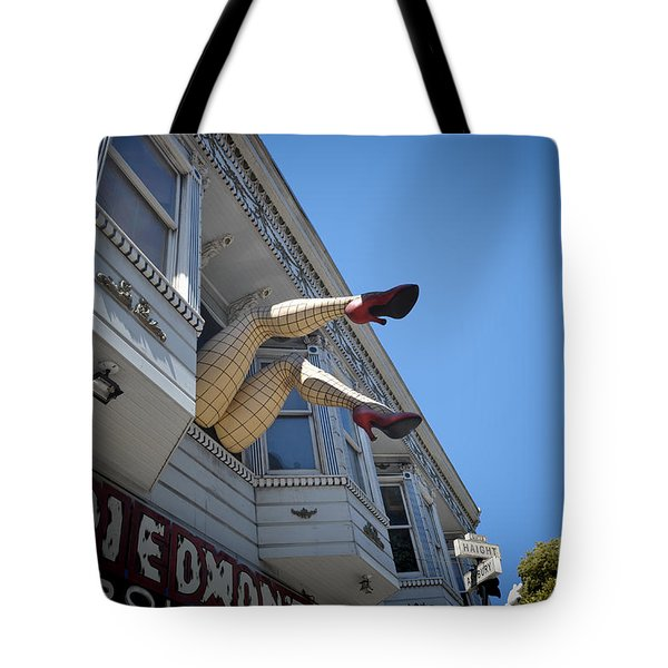 Tote Bag featuring the photograph Crazy Legs by Judy Wolinsky