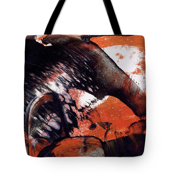 Crazy Mouse - Modern Abstract Art Painting Tote Bag
