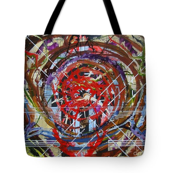 Crazy Quilt Star Dream Tote Bag