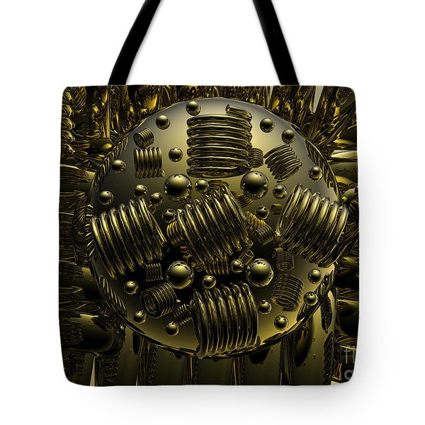 Crazy Tote Bag by Robert Orinski