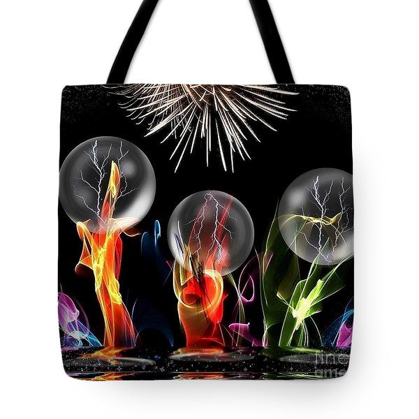 Crazy Space By Nico Bielow Tote Bag by Nico Bielow