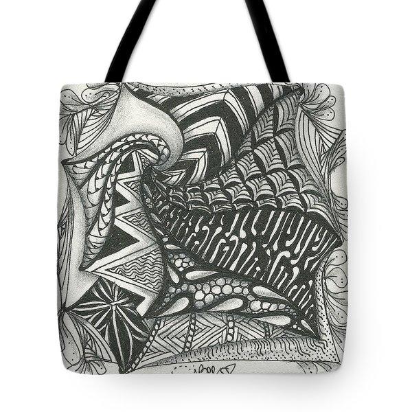 Crazy Spiral Tote Bag