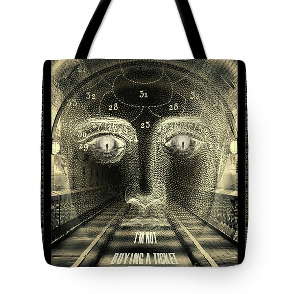 Crazy Train Tote Bag