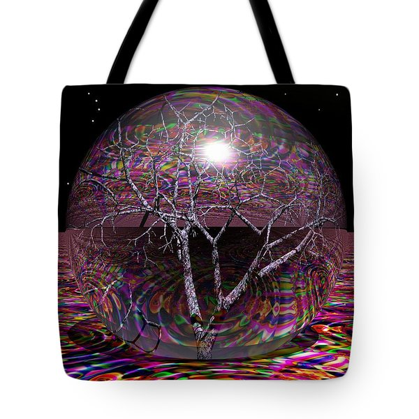 Crazy World Tote Bag by Robert Orinski