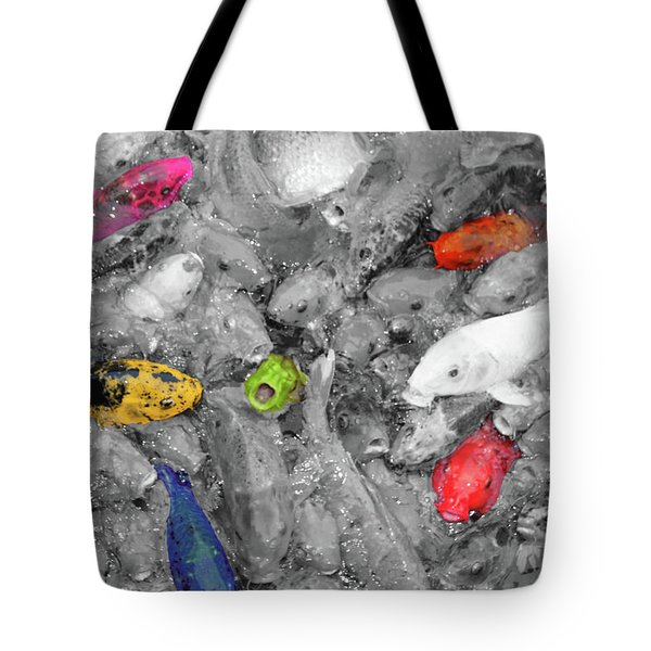 Create Your Own Happiness And Break Free Of The Grey Tote Bag