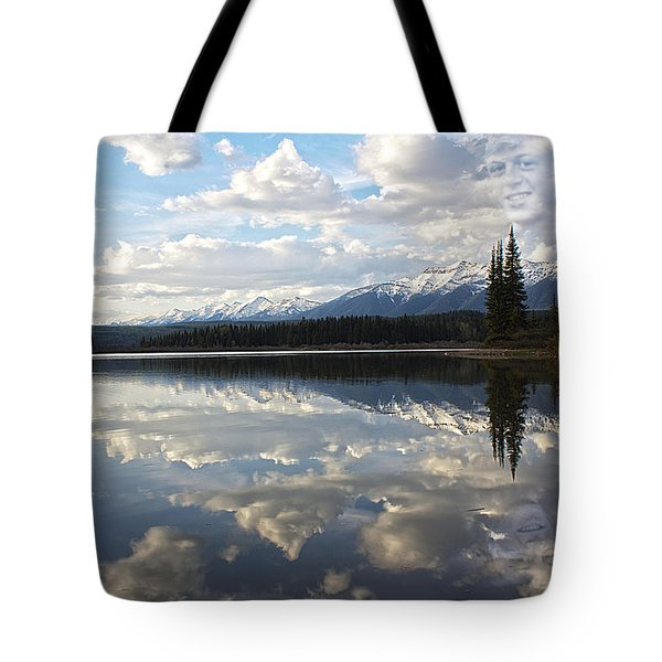 Created - He Is Calling Tote Bag