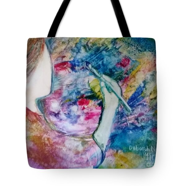 Created To Create Tote Bag